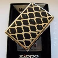 Zippo 28675 <b>Fence Design</b>, <b>Зажигалка Зиппо</b> с изображением ...