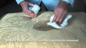 how to remove stains from a fabric sofa mp4 youtube