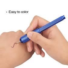 Tattoo Body Art Tool Skin Transfer Marker Iron Reuseable Pen Holder