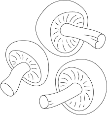 Small Picture Three small mushrooms coloring page Download Free Three small