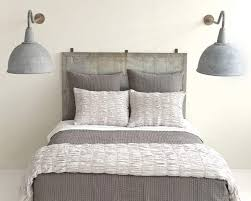 cone hill smocked dove grey duvet covers shams