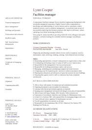 editor cv events manager cv facilities manager cv manager resumes samples