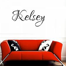 wall decals christian wall decal new kelsey girl name boy name letters childrens room vinyl wall on adhesive wall art letters with wall decals christian wall decal new kelsey girl name boy name