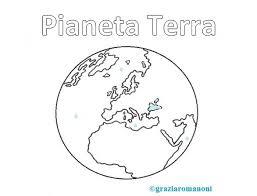 Pianeta Terra Da Colorare Mondofantasticocom