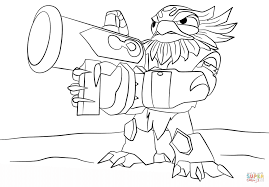 Small Picture Skylanders Giants Jet Vac coloring page Free Printable Coloring