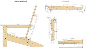 adirondack chair plans. Modren Plans To Adirondack Chair Plans
