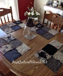 37 best Country Placemats and Table Runners images on Pinterest ... & Quilted Placemats, Country Placemats, Set 4, Western Decor, Placemats  Handmade, Rustic Placemats, Placemats, Black Tan, Flag, Patriotic Adamdwight.com