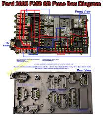 2005 ford f350sd 6 0 turbo diesel fuse box diagram ford ford super duty f350 fuse box diagram
