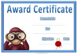 Kids Award Certificate Student Award Certificates To Printable Download Them Or Print