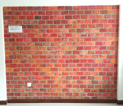 authentic faux brick wall 10 diy