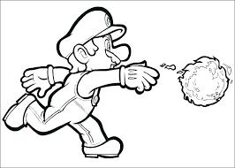 Mario Coloring Page Haljinezamaturu