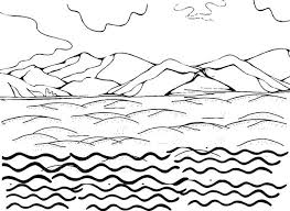 Small Picture Water Coloring Page Printable Water Cycle Coloring Pages Enjoy