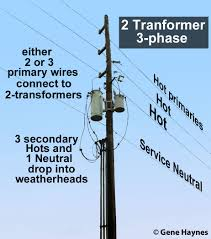 how to wire 3 phase Power Pole Transformer Wiring a third transformer can be added when load exceeds capacity of two transformers Pole Transformer Wiring Diagrams