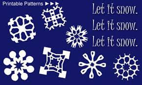 Snowflake Patterns Unique Paper Snowflakes Christmas Holiday Arts And Crafts December