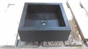 custom made square vanity vessel sink