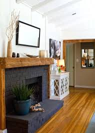 black fireplace paint our black painted fireplace brick paint painting ideas pictures fireplaces that radiate coziness