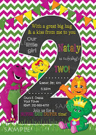 barney party invitation template 7 best shoes barney images on pinterest barney party barney