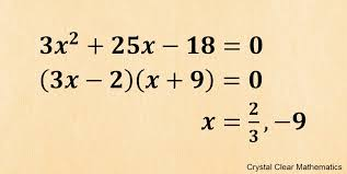 how to factorise quadratic expressions