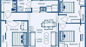 Small Picture 48 Residential House Plans 3 Bedrooms House Plans In Kenya 3