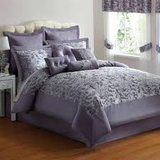 purple comforter set king photo 9 of elegant purple silver jacquard king size comforter bed set purple comforter set