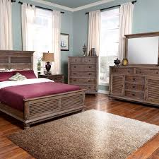 Lakeport Pewter Bedroom Set