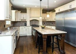 kitchens with white cabinets and dark floors antique white kitchen cabinets with dark hardwood floors off