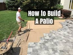how to build a patio an easy do it