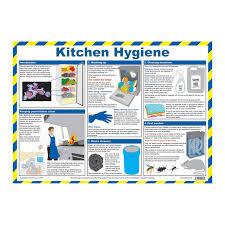 Food Hygiene Poster Kitchen Hygiene Food Hygiene Wallchart Food Safety Posters Food