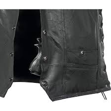 leather concealed carry vest 22 95