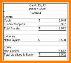 6+ Simple Balance Sheet | Legacy Builder Coaching