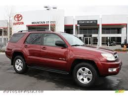 2005 Toyota 4Runner Sport Edition 4x4 in Salsa Red Pearl - 039392 ...