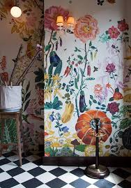 Small Picture Image Via DesignSponge Statement Walls Pinterest Floral