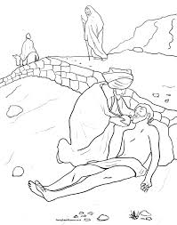 Good Samaritan Bible Coloring Pages Story Lovely Page The Hidden