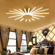 18 light modern contemporary led integrated living room dining room bed room metal
