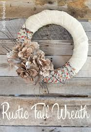 supplies needed to make your own fall wreath diy links1