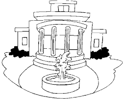 Small Picture White House Coloring Page