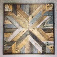 reclaimed wood wall art barn wood
