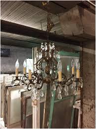 underwriters laboratories chandelier 293310 antique underwriters laboratories 8 light brass crystal