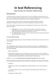 Harvard Referencing Essay Example Referencing Harvard Referencing