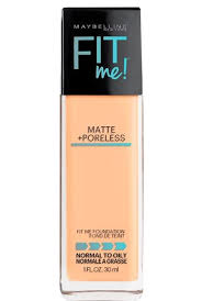 Maybelline Skin Tone Chart Fit Me Matte Poreless Foundation Makeup Maybelline