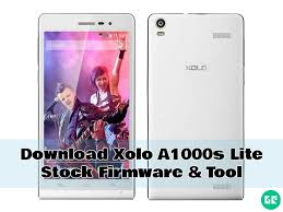 Xolo A1000s Lite Stock Firmware & Tool