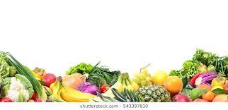 fruit and vegetables border. Fine Fruit Fruit And Vegetables And Vegetables Border T