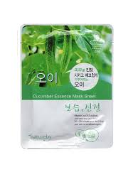 10% Natureby <b>Тканевая маска с огурцом</b> NATUREBY Cucumber
