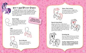 my little pony fan sle pages from book page
