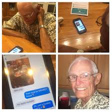 My grandfather and his friends recently got iPhones. MadeMeSmile
