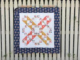 Jacob's Ladder Baby Quilt | Blossom Heart Quilts & Jacobs Ladder quilt pattern in Paper Meadow by JillyP Studio for Dashwood  Studio Adamdwight.com
