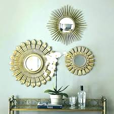 table trendy set of three mirrors 6 mirror vanity decorative wall sets full image for