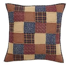 Old Glory Bedding – Primitive Star Quilt Shop & Old Glory Quilted Euro Sham 26x26