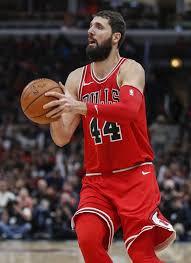 nikola mirotic bulls. Wonderful Nikola Chicago Bulls Forward Nikola Mirotic Looks To Shoot Against The Indiana  Pacers During Second Half With