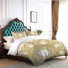 2,700 round bedroom furniture set products are offered for sale by suppliers on alibaba.com, of which living room sofas accounts for 4%, bedroom sets accounts for 3%, and garden sets accounts for 2. Amazon Com Hello One Sweaters Bedding Sets 4 Pieces Victorian Decor Traditional Gold Floral Round Circle With Baroque Turkish Ottoman Style Art Full Size For Tween Girls Boys Home Kitchen